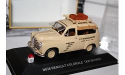 Масштабная модель NOSTALGIE №36 Renault Colorale Taxi Sahara 1/43, масштабная модель, 1:43