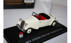 Масштабная модель Nostalgie №12 Citroen Traction 7 Rodster 1935 1/43, масштабная модель, 1:43
