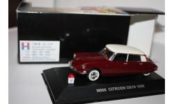 Масштабная модель Nostalgie №5 Citroen DS19 1956 1/43, масштабная модель, 1:43