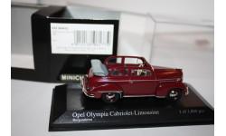 Масштабная модель Minichamps Opel Olympia cabriolet Limousine 1/43, масштабная модель, 1:43