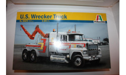 Сборная модель Italeri Ford L9000 US Wrecker Truck № 3825  Plastic Model Kit 1/24, сборная модель автомобиля, 1:24