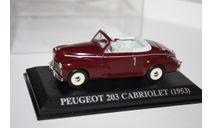 Масштабная модель 1/43 Peugeot 203 Cabriolet (1953) - Altaya, масштабная модель, scale43