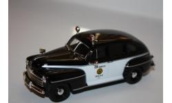 DeAgostini Полицейские Машины Мира №50 - Ford Fordor 1947 1/43, масштабная модель, Полицейские машины мира, Deagostini