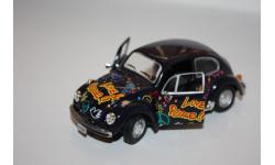 Cararama VW Volkswagen Beetle 1/43, масштабная модель, Bauer/Cararama/Hongwell