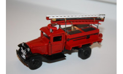 ЛОМО 901 ПМГ-3 (на базе ГАЗ-АА) Пожарный автомобиль с ДПО 1/43, масштабная модель, ЛОМО-АВМ