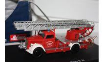 SCHUCO 03071 OPEL BLITZ S 3T Feuerwehr FIRE ENGINE 1/43, масштабная модель, scale0