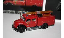 MINICHAMPS 439141071 Magirus-Deutz Merkur TLF 16 Feuerwehr Aachen 1/43, масштабная модель, scale0