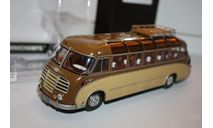 MINICHAMPS 439030087 SETRA S8 AUTOBUS 1951 BROWN BEIGE 1/43, масштабная модель, scale0