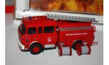 NOREV 690003  BERLIET GAK 17 TRUCK FIRE ENGINE RED 1/43, масштабная модель, scale0