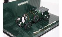 Minichamps 436139530 Bentley 4.5 Litre SUPERCHARGED Blower Le Mans 1930 Benjafield/rampon 1/43, масштабная модель