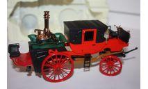 X05 Brumm Old Fire Carro di Bordino 1854 Dampfwagen Dampffahrzeug Steam car 1/43, масштабная модель