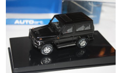 AUTOart 56103 Mercedes-Benz G-wagon SWB 1980 black 1/43, масштабная модель