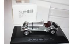 WhiteBox 147359 Mercedes-Benz SSK 1928 Silver 1/43, масштабная модель, scale0