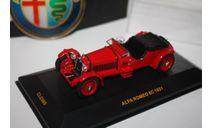 Ixo Models CLC060 1931 Alfa Romeo 8C Red 1/43+подарок шильдик, масштабная модель, IXO Road (серии MOC, CLC), scale0
