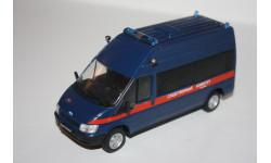 Deagostini Автомобиль на Службе №45 Ford transit Форд Транзит Следственный комитет РФ, масштабная модель, Автомобиль на службе, журнал от Deagostini, scale43