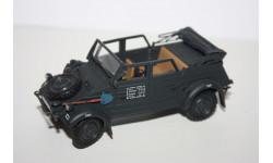 Cararama Volkswagen Kubelwagen VW Type 82 Black Wehrmacht 1/43