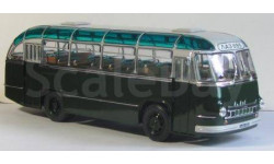 ЛАЗ 695 зеленый городской