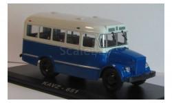 КАВЗ 671 Классикбус синий, масштабная модель, 1:43, 1/43, Classicbus