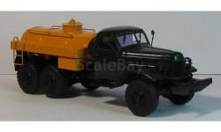 ЗИЛ 157 топливозаправщик зеленый, масштабная модель, 1:43, 1/43, МХВ