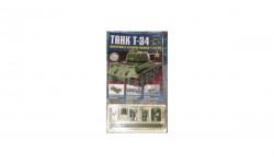 Сборная модель танка Т-34 номер 2, журнальная серия масштабных моделей, 1:43, 1/43