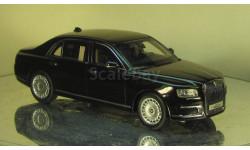 Аурус Сенат С600 черный ДИП Моделс, масштабная модель, 1:43, 1/43, DiP Models, НАМИ