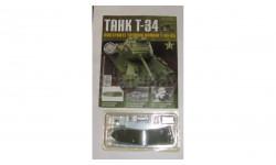 Сборная модель танка Т-34 номер 3, журнальная серия масштабных моделей, 1:43, 1/43