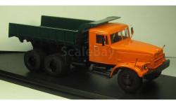 КРАЗ 256Б1 оранжевый зеленый ССМ 1086 в боксе, редкая масштабная модель, 1:43, 1/43, Start Scale Models (SSM)
