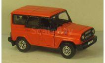 УАЗ Хантер Красный, масштабная модель, Bauer/Cararama/Hongwell, scale43