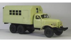 ЗИЛ 157 кунг граненый ГК-1 светло песочный, масштабная модель, 1:43, 1/43, МХВ