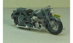 Мотоцикл М-72 милиция ДИП, масштабная модель мотоцикла, 1:43, 1/43, DiP Models