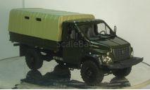ГАЗ Некст С41А21 хаки бортовой тентованый, масштабная модель, 1:43, 1/43