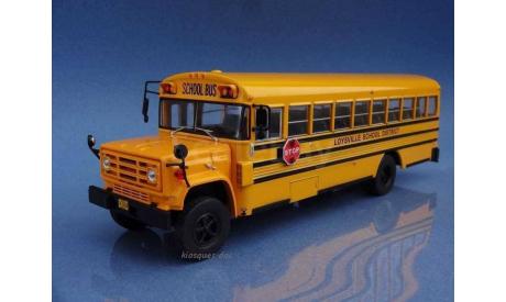 Автобус GMC 6000 School bus 1989, масштабная модель, 1:43, 1/43, Hachette