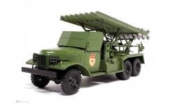 ЗИС-151 (БМ-13 'Катюша) ДеАгостини №2, масштабная модель, 1:43, 1/43