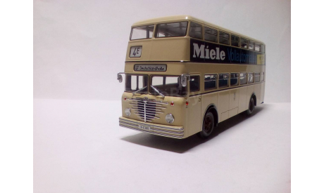 Автобус Бюссинг Bussing D2U 'Miele' Minichamps, масштабная модель, scale43