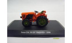 1:43 Трактор Same DA 30 DT TRENTO от Universal Hobbies UH6043, масштабная модель трактора, scale43