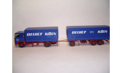 Скания LB111 'Delhey Koln' Minichamps 499 123820, масштабная модель, 1:43, 1/43