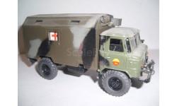 ГАЗ-66 санитарный кунг - конверсия, масштабная модель, неизвестен, scale43