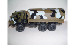 КАМАЗ-5350 со спальником, поворотные передние колёса, Элекон
