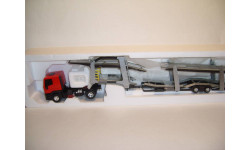 Ивеко IVECO EuroTech автовоз LBS (Eligor) 11754, масштабная модель, scale43