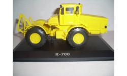 Трактор К-700 'Кировец'  №7 Hachette, журнальная серия Тракторы. История, люди, машины (Hachette), scale43