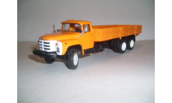 ЗИЛ-133ГЯ автоэкспорт оранжевый грузовик с поворотными колёсами, SSM1051, масштабная модель, scale43
