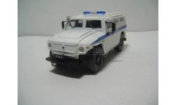 ГАЗ-233036 милиция ОМОН АНС № 29 ДеАгостини, масштабная модель, DeAgostini, scale43