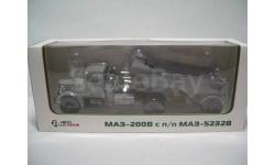 МАЗ-200В светло/серый (АИСТ100374) + МАЗ-5232 серый АИСТ101104)