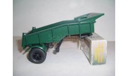 Функциональный самосвальный полуприцеп МАЗ-5232В зелёный Автоистория10104