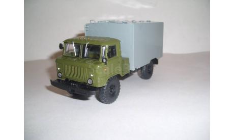 ГАЗ-66-40 автозак АЗМ, масштабная модель, ДеАгостини + ручная работа, scale43