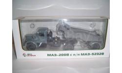 МАЗ-200В серый (АИСТ100374) + МАЗ-5232 серый (АИСТ101104)