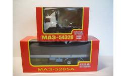 МАЗ-54326 (НАП Н709) + МАЗ-5205А (НАП Н853)