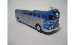 Автобус GMC PD-3751 'Greyhound' с журналом, масштабная модель, 1:43, 1/43, Hachette