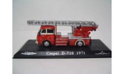 Чепель Csepel D-710 (пожарная лестница) 1971 ATLAS 1:72 серия Икарусы