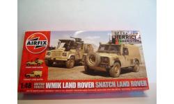Бронеавтомобили WMIK Land Rover + Snatch Land Rover Airfix A06301 масштаб 1:48